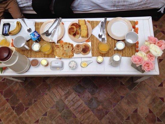 Riad les Orangers d'Alilia Marrakech: Merci Hasna et Fatiha pour ces délices