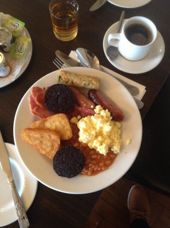 Leasowe Castle Hotel: Epic breakfast