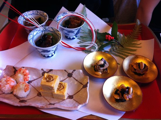 Tofuya Ukai, Owada: Tofuya Ukai Owadaten January Appetizer Tray