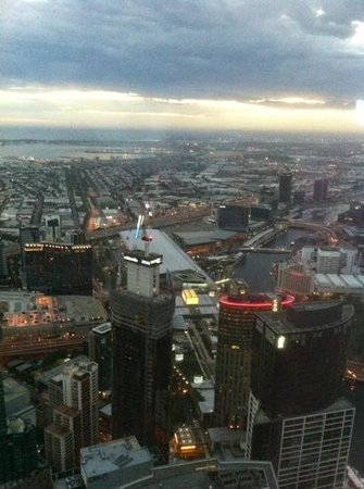 Observatoire de l'Eureka Tower : Twilight view from the Skydeck.