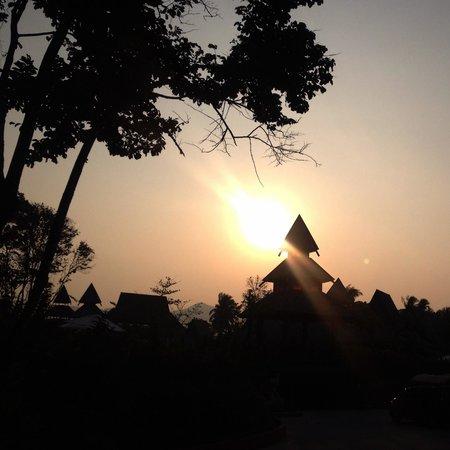 Santhiya Koh Yao Yai Resort & Spa : Beautiful sunrise