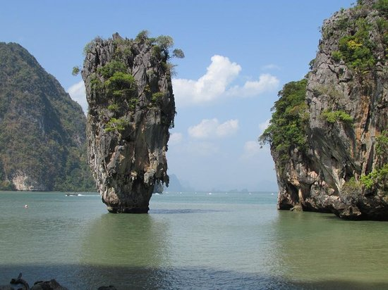 canoeing in the caves - Picture of James Bond Island, Ao Phang Nga National P...