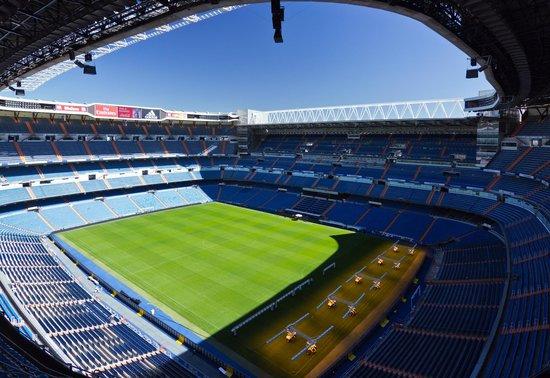 Estadio Santiago Bernabéu: Панорамный вид.