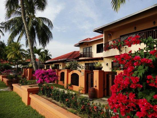 Casa del Mar, Langkawi : Harmonie des couleurs des bougainvilliers
