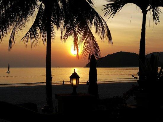 Casa del Mar, Langkawi: Coucher de soleil au Casa Del Mar
