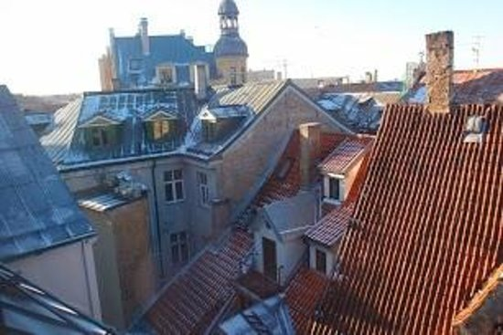 Rixwell Domus Hotel : view from loft