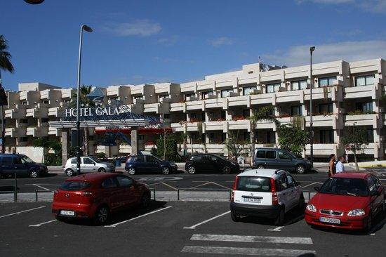 Hotel Gala: Gala hotell inngangspartiet.