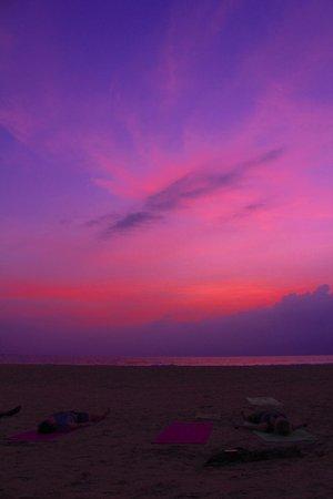 Villa de Zoysa : sunset from local beach
