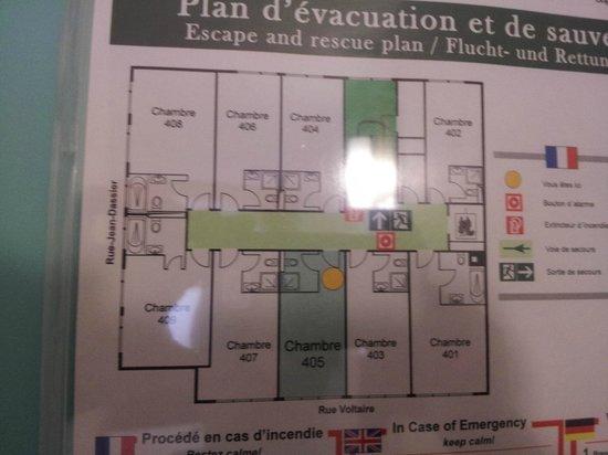 ibis Geneve Centre Gare : Floorplan