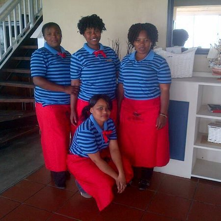On The Harbour : Our Friendly Staff
