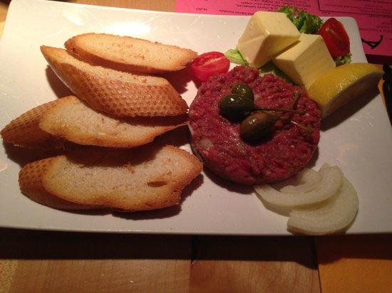 Krahvogel: Steak Tartar Austian Beef