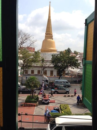 Baan Bovorn Khaosan : view from the room