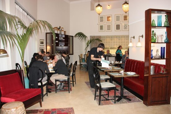 Arthur Hotel Jerusalem - an Atlas Boutique Hotel: The dining room - nice ,quiet , clean! breakfast is awesome!