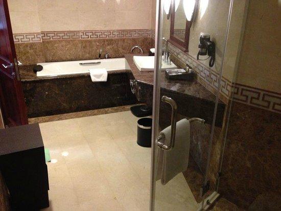 Rex Hotel : Banheiro da suíte
