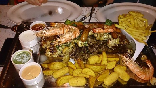 Cafe Tirol: mixed grill