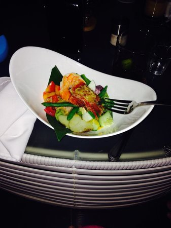 The Ananyana Beach Resort & Spa: salad