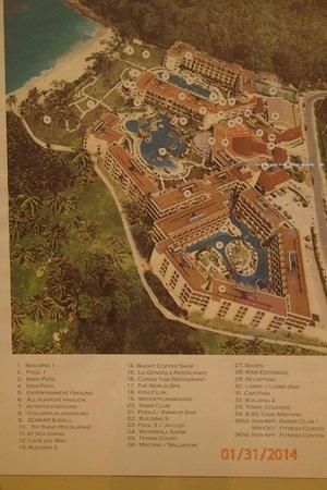 Phuket Marriott Resort & Spa, Merlin Beach: Lay-out Merlin Bech