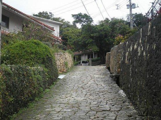 Shrikinjocho Stone-Path Road: 石畳