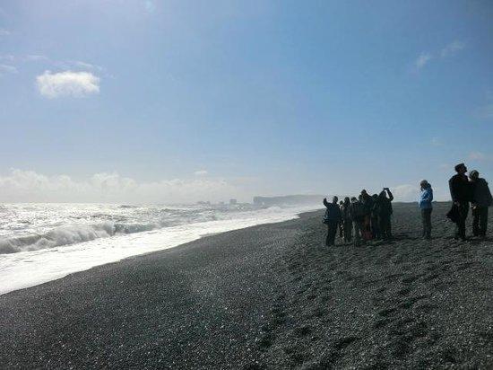 Black Sand Beach: beach area
