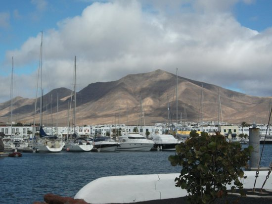 Hotel THe Volcan Lanzarote : View from room