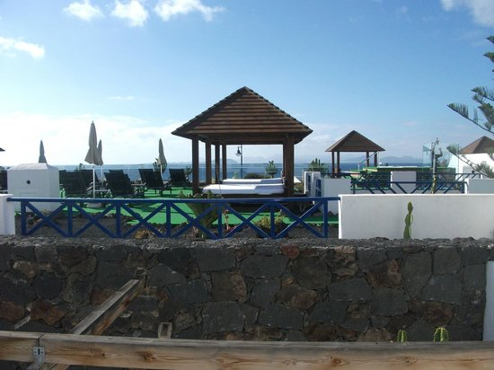 Hotel THe Volcan Lanzarote : View from room 667 in THe Club