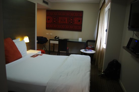Adina Apartment Hotel Darwin Waterfront : Bedroom