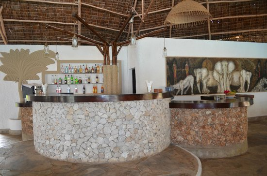 Kivulini Luxury Resort: Bar