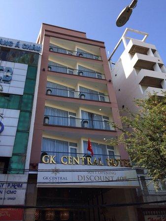 GK Central Hotel: Hotel Front