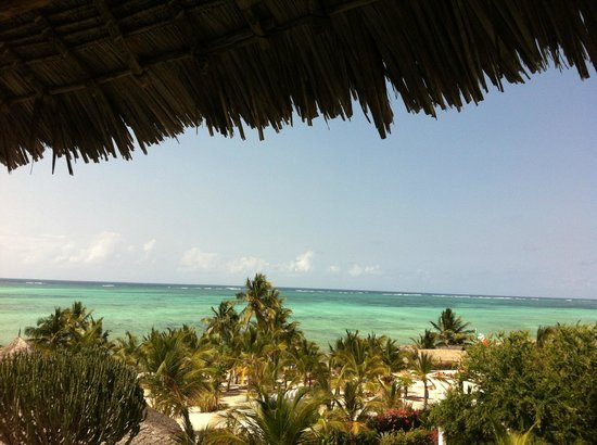 Jacaranda Beach Resort: vista dalla dal ristorante