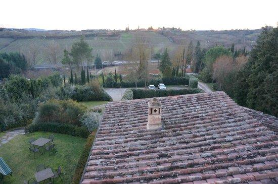 Villa il Borghetto: view for the terrance of our appartment