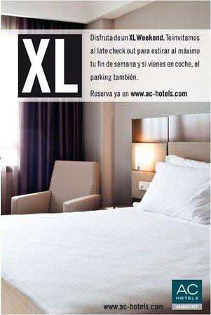 AC Hotel Sevilla Torneo: Paquete XL Weekend