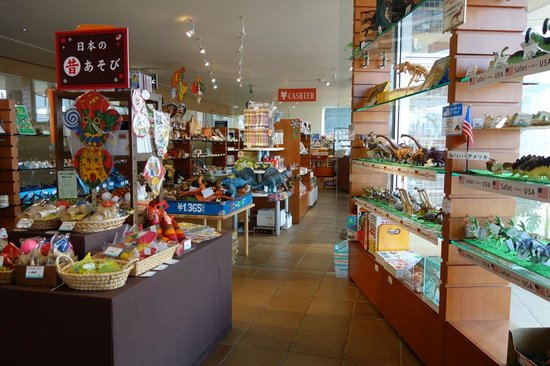 Gift shop - Picture of Kitakyushu Museum of Natural History ...