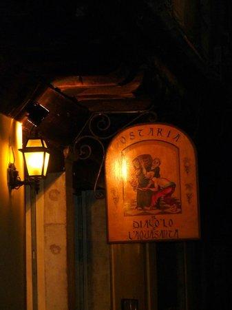 Osteria Al Diavolo E L'acquasanta : Ostaria Al Diavolo e l'Acquasanta.