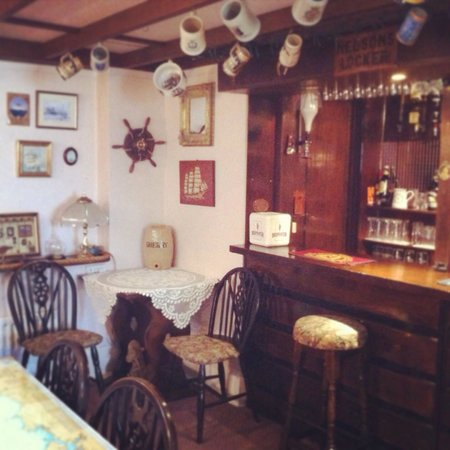 The Woodlands: The Woodland's very own in house bar..Nelson's Locker!