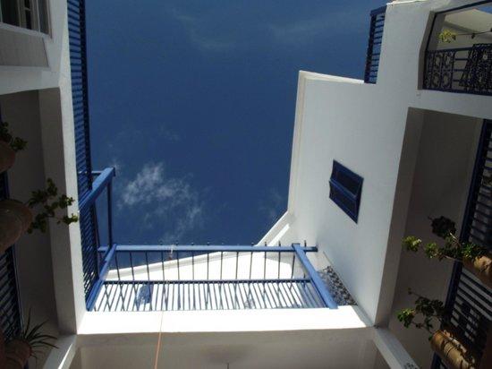 Lalla Mira Hotel-Restaurant-Hammam : vue sur les étages