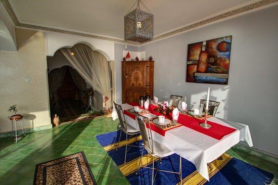 Villa Taghazout Bay - La Clé des Agadirs : Repas petit déjeuner et dîner