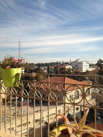 National Hotel Jerusalem: colazione in terrazza