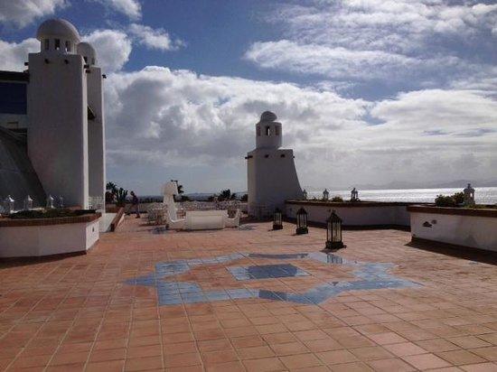 H10 Timanfaya Palace: Bar terrace