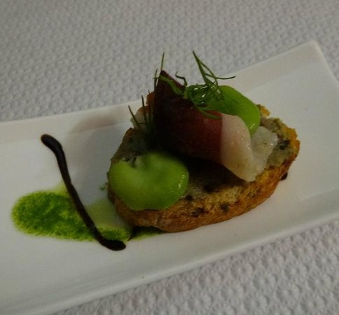 La Table du 9 : Amuse Bouche - so simple and so tasty