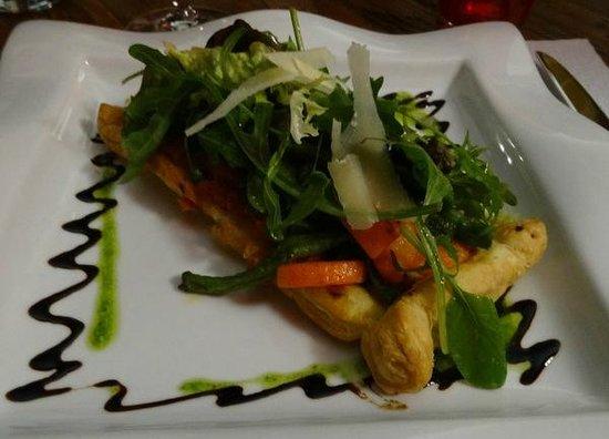La Table du 9 : vegetable pastry concoction was heavenly