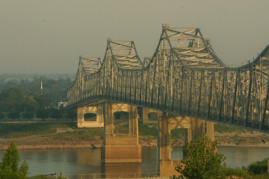 Super 8 Natchez: View on the Mississippi River