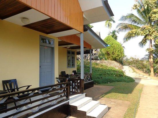 Thuwunna Bumi Mountain View Resort : Bungalow