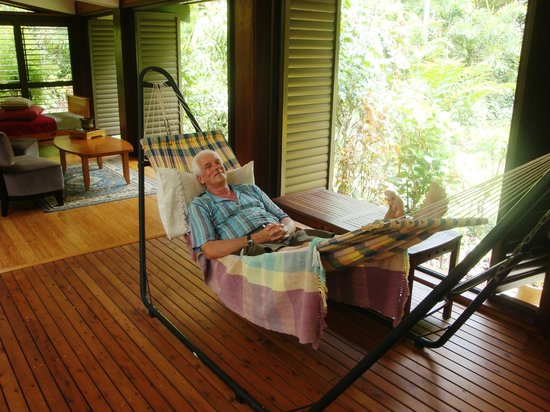 Cow Bay Homestay : Relax area