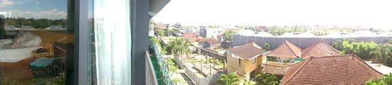 Ize Seminyak: View from our room