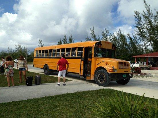 Club Med Columbus Isle : aéroport transport