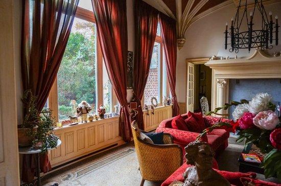 Le Château des Ormes : Le salon