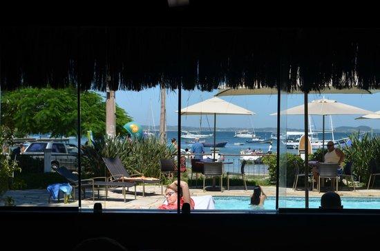 Pousada Corsário: Vista do restaurante.