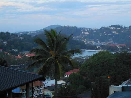 Hotel Thilanka: Utsikt från balkongen
