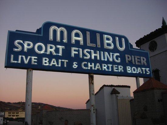 Malibu Pier: Placa do Pier