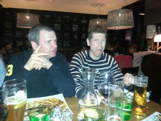 Anthony's Pizzeria: Paddy & Jed